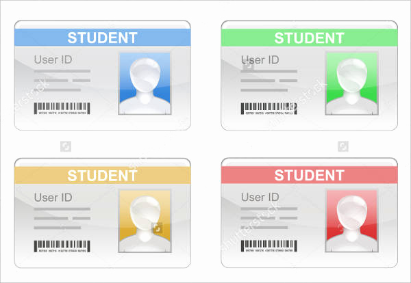 Student Id Card Template Elegant 38 Id Card Templates Psd Eps Png