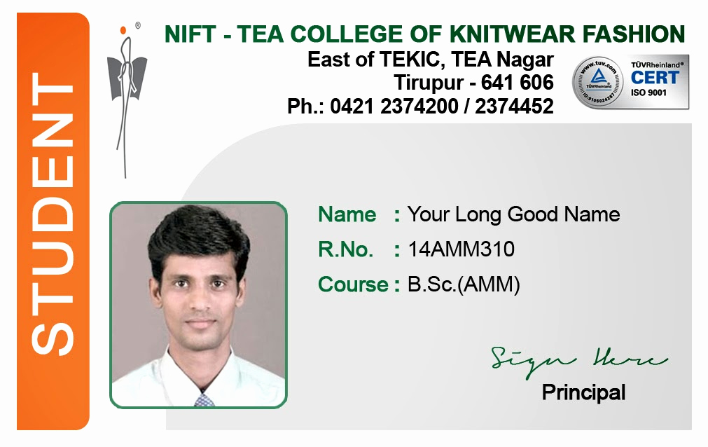 Student Id Card Template Lovely Template Galleries Student Id Card Templates