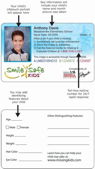 Student Id Card Template Luxury Kids Id Card Template Id…