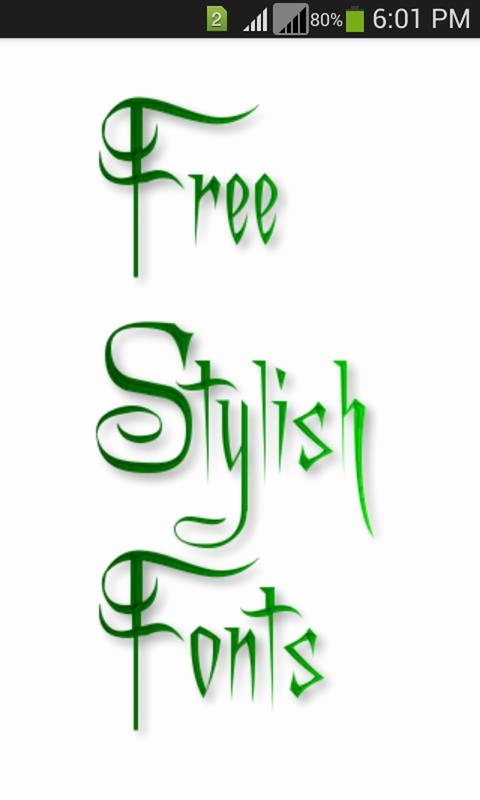 Stylish Fonts for android Best Of Stylish Fonts Apk Download Free Personalization App for