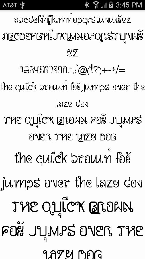 Stylish Fonts for android Fresh Stylish Fonts for Flipfont android Apps On Google Play