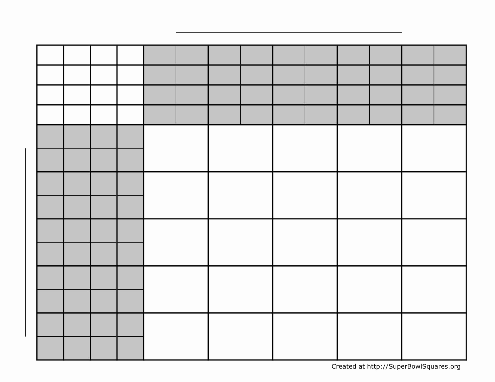 Super Bowl Squares Template Excel Inspirational Super Bowl Squares Template Excel Template Design