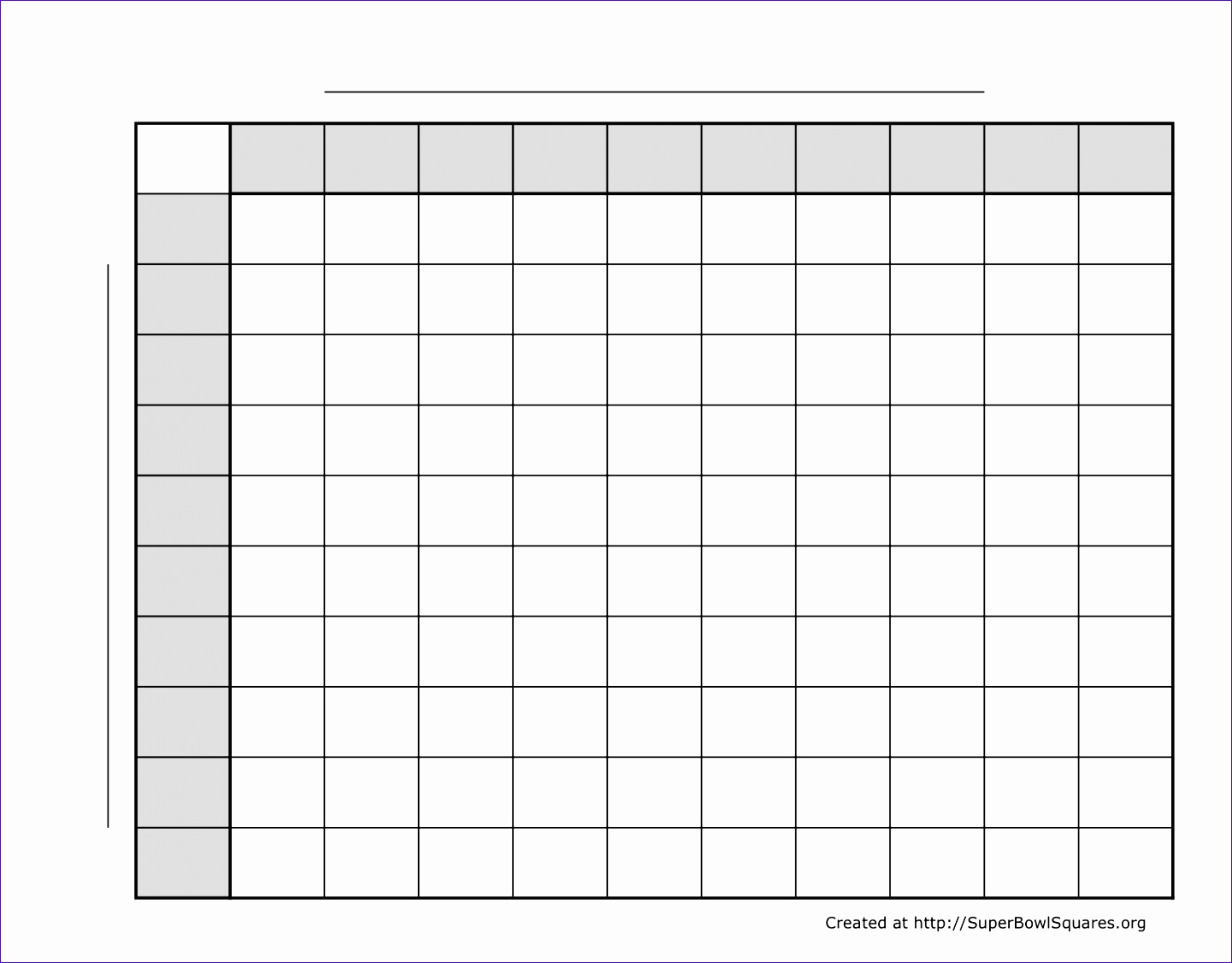 Super Bowl Squares Template Excel Unique 5 Super Bowl Squares Excel Template Exceltemplates