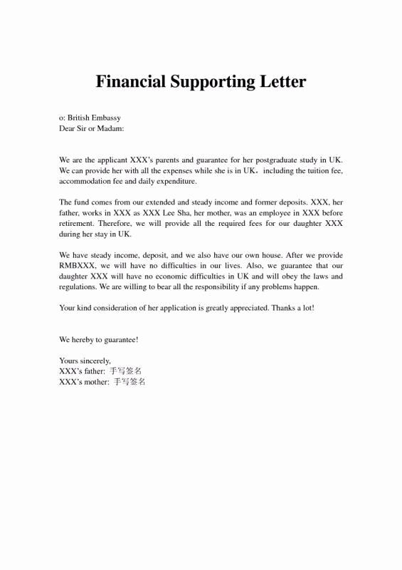 Support Letter Sample for Immigration Unique Immigration Letter Support for A Family Member