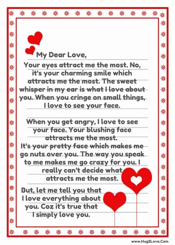 Sweet Love Letter for Him Fresh Love Poems for Your Boyfriend that Will Make Him Cry