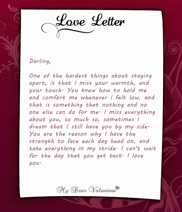 Sweet Love Letter for Him Lovely to Be In Love is One Of the Most Magical Experiences that