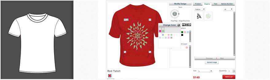 online t shirt design tool