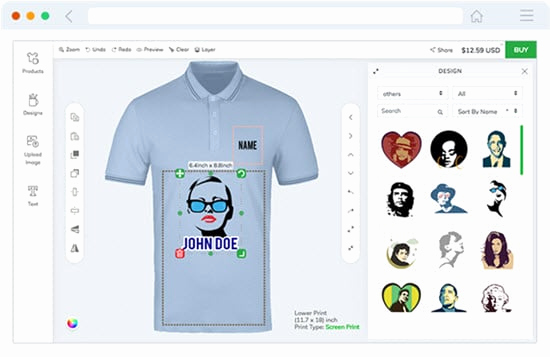 T Shirt Graphic Design software Best Of 8 Best T Shirt Design software Free & Paid 2018 Appginger