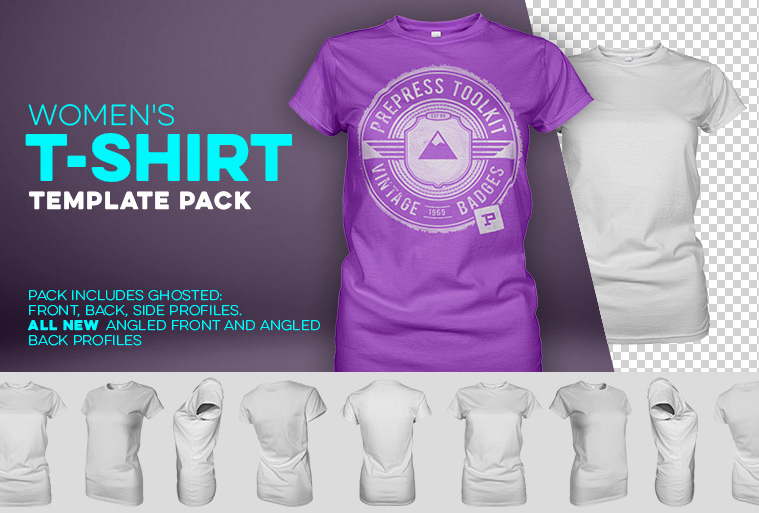 T Shirt Template Photoshop Elegant 9 Blank Ghosted Women S Clothing Templates