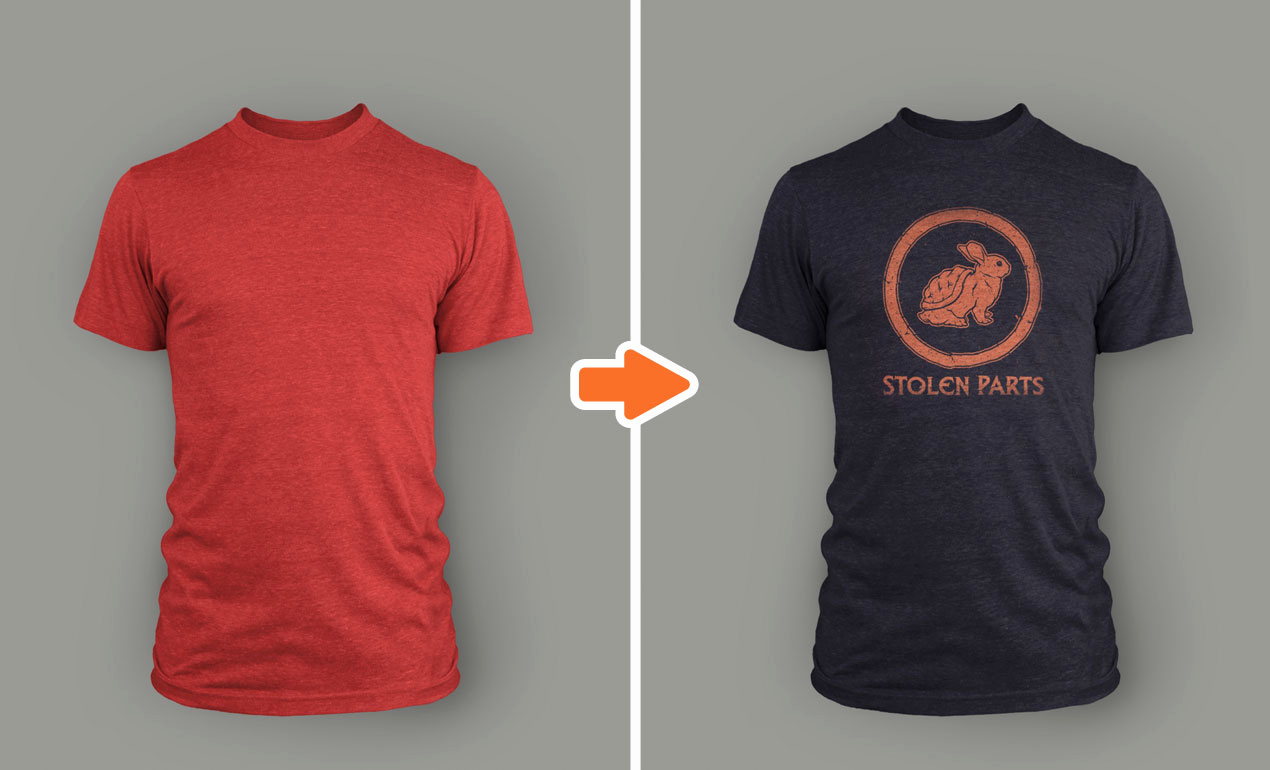 T Shirt Template Photoshop Elegant Shop Men S Tri Blend Mockup Templates Pack