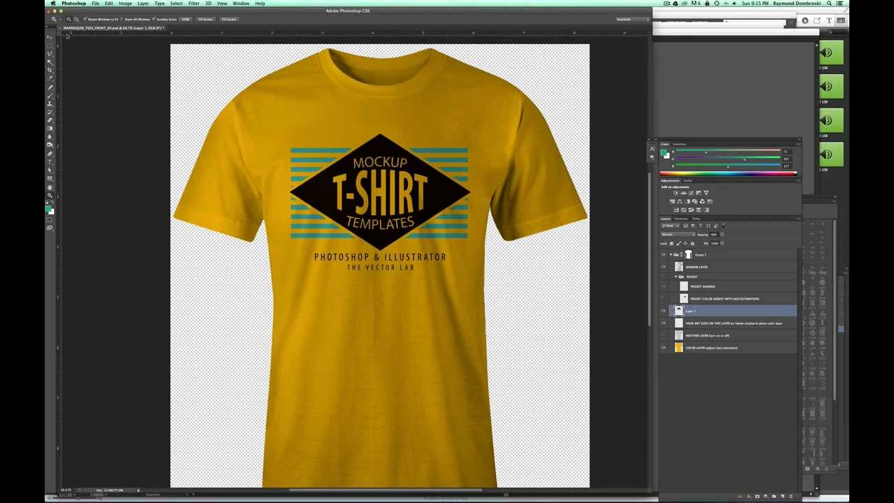 T Shirt Template Photoshop Fresh Mockup A T Shirt Design In Shop so It Looks Real