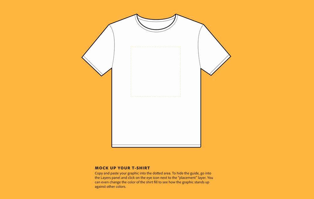 T Shirt Template Photoshop Unique 100 Best T Shirt Templates & Psd Mockups [updated 2019]