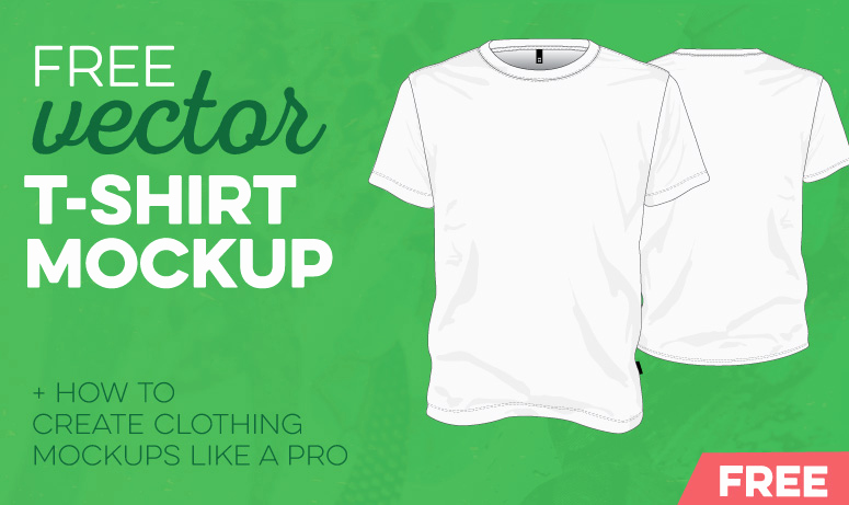 T Shirt Template Vector Awesome Free T Shirt Template Vector Mockup Vector File