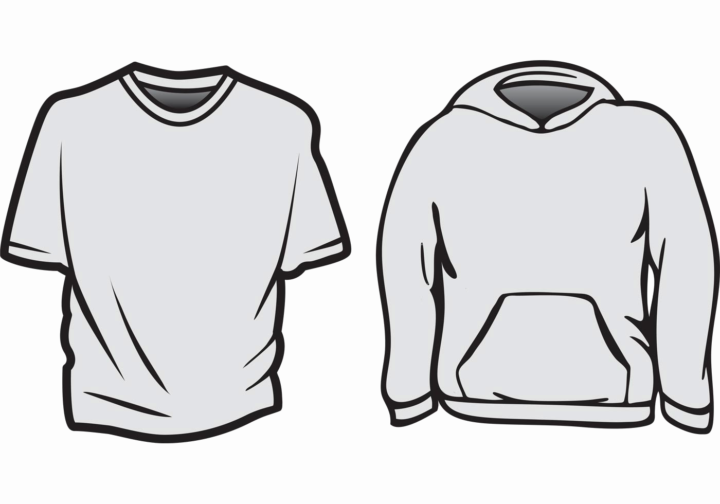 T Shirt Template Vector Awesome Free Vector T Shirt Templates Download Free Vector Art