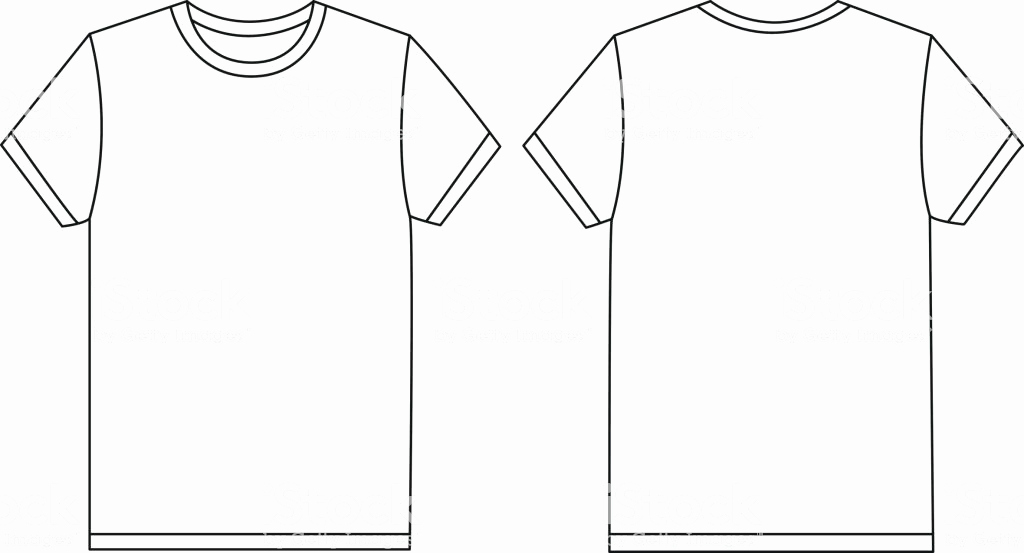 T Shirt Template Vector Awesome Vector White Tshirt Template Mockup Stock Vector Art