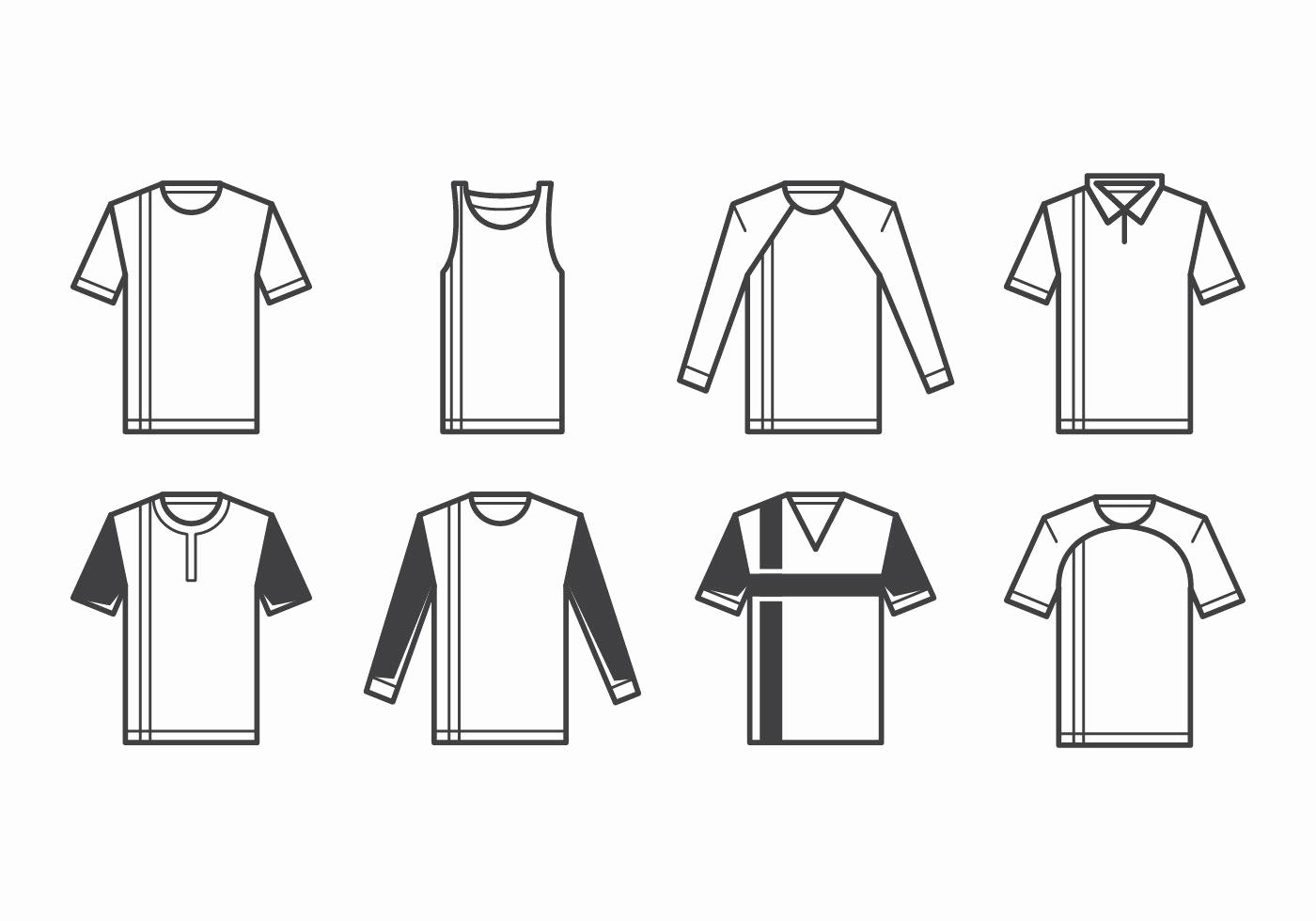 T Shirt Template Vector Beautiful T Shirt Template Vector Download Free Vector Art Stock
