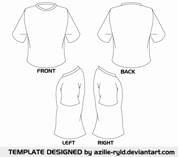 T Shirt Template Vector Fresh Vector Blank Tshirt Template Front and Back
