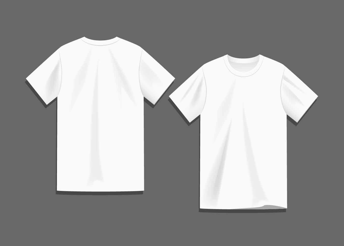 T Shirt Template Vector Luxury White Blank T Shirt Template Vector Download Free Vector