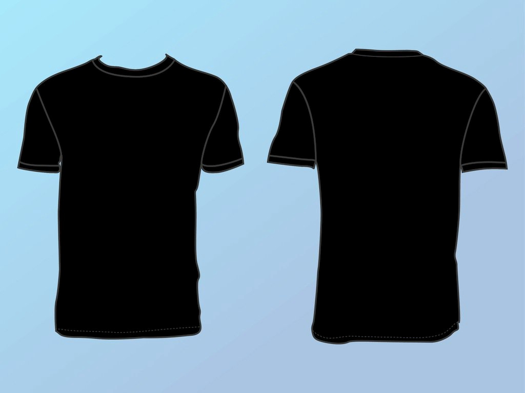 T Shirt Template Vector Unique Basic T Shirt Template Vector Art & Graphics
