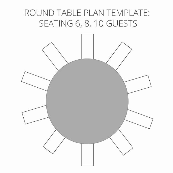 Table Seating Chart Template Luxury Wedding Seating Plan Template & Planner – Free Download