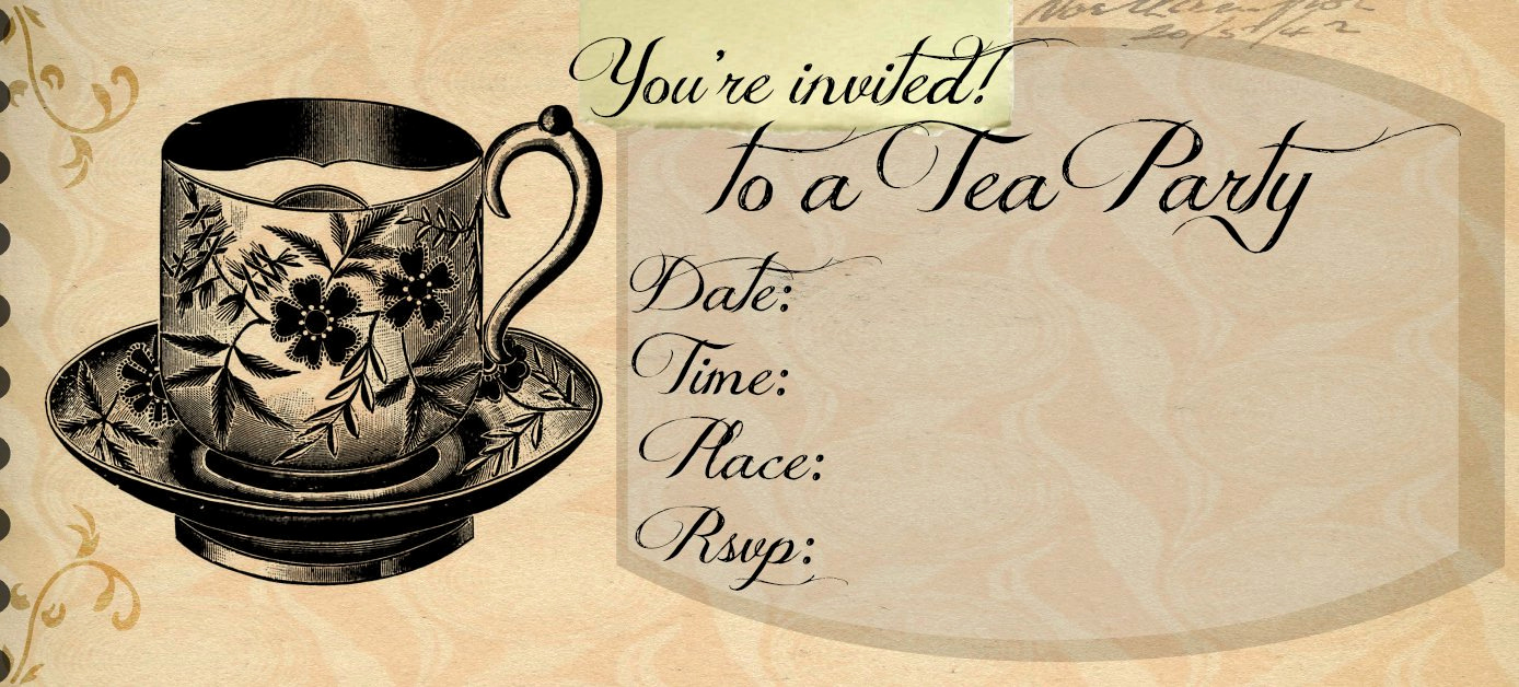 Tea Party Invitation Templates Awesome High Tea Invitation Templates