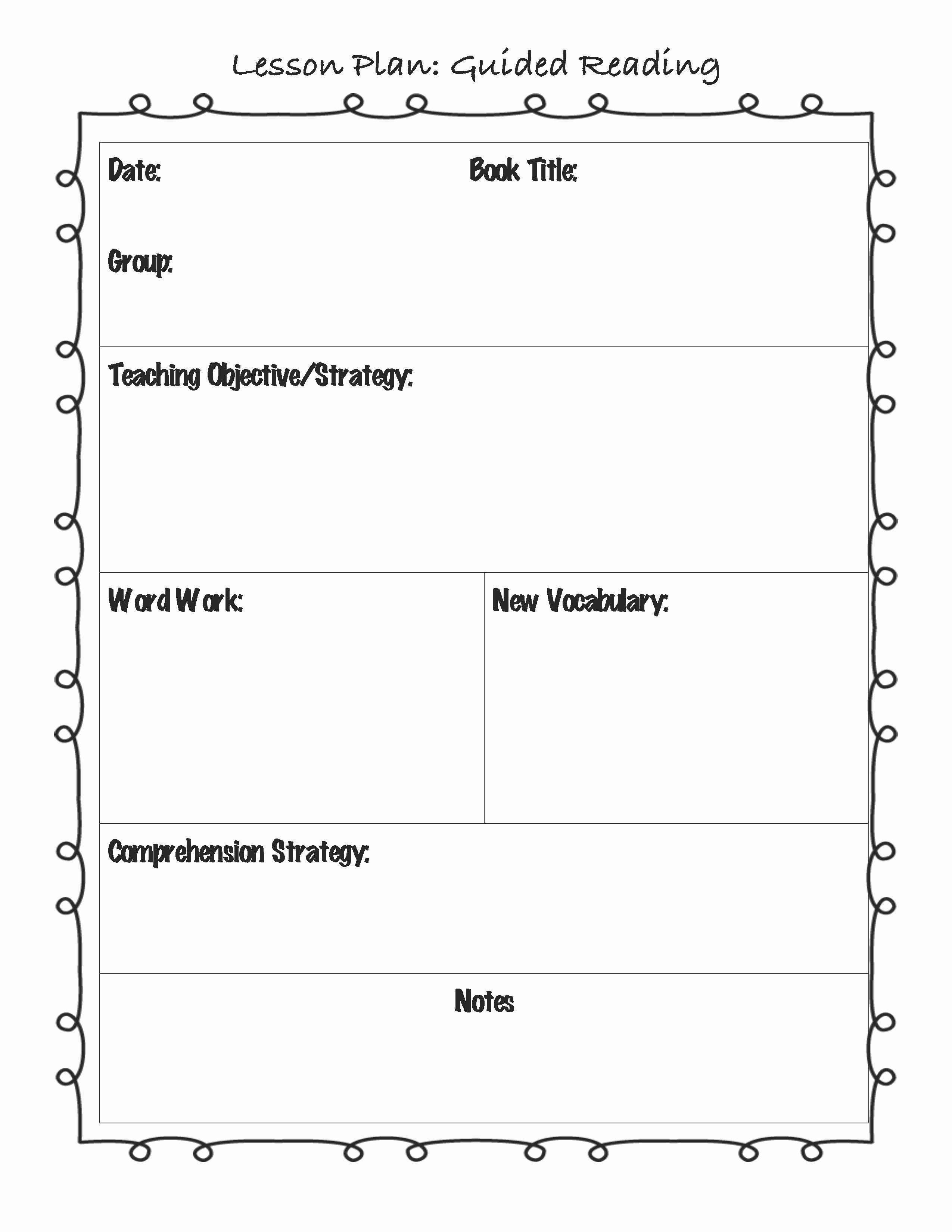 Teacher Lesson Plan Template Fresh Englishlinx