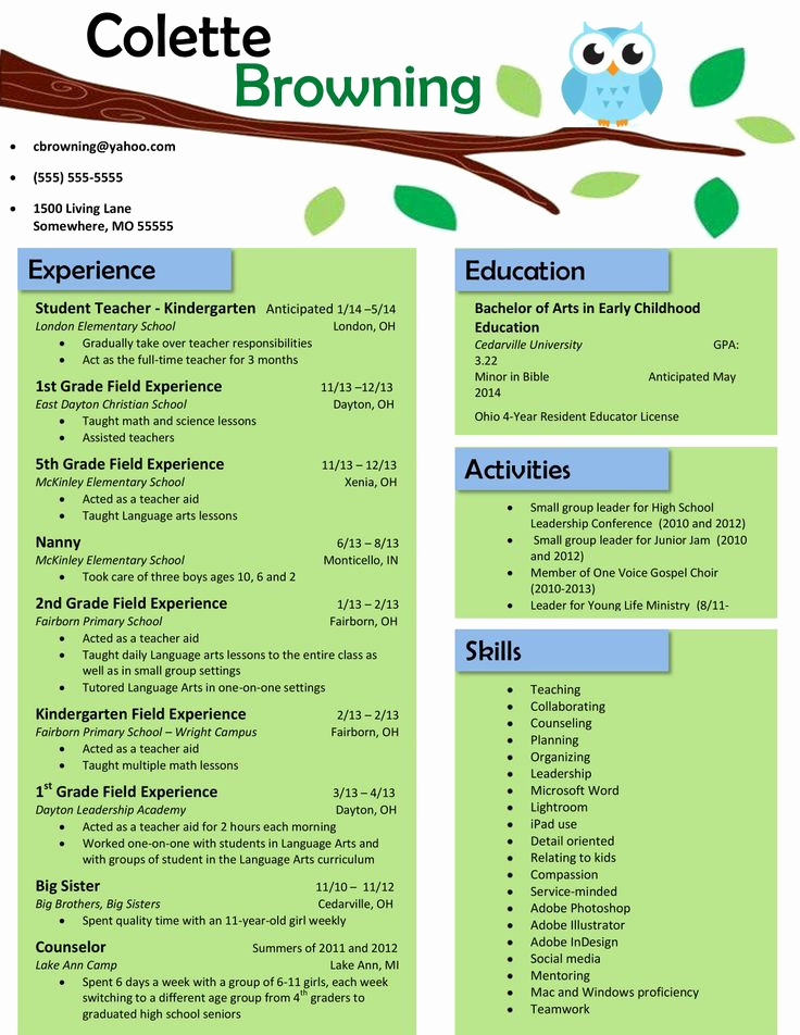 Teacher Resume Template Free Fresh 13 Best Teacher Cover Letters Images On Pinterest