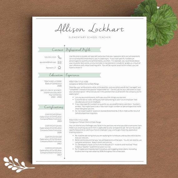 Teacher Resume Template Word Lovely Best 25 Cover Letter Teacher Ideas On Pinterest