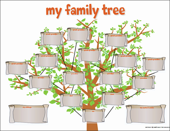 Template for Family Tree Beautiful Family Tree Template 29 Download Free Documents In Pdf