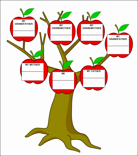 Template for Family Tree New Family Tree Template 55 Download Free Documents In Pdf
