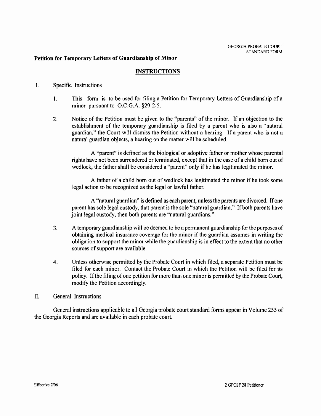 Temporary Guardianship Agreement form Luxury Temporary Legal Guardianship form Georgia Free Download