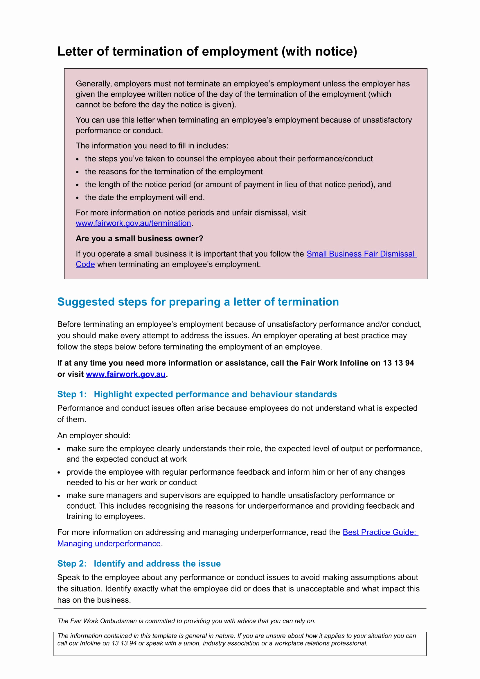 Termination Of Employment Letter Luxury 9 Examples Of Employee Termination Letter Template Pdf