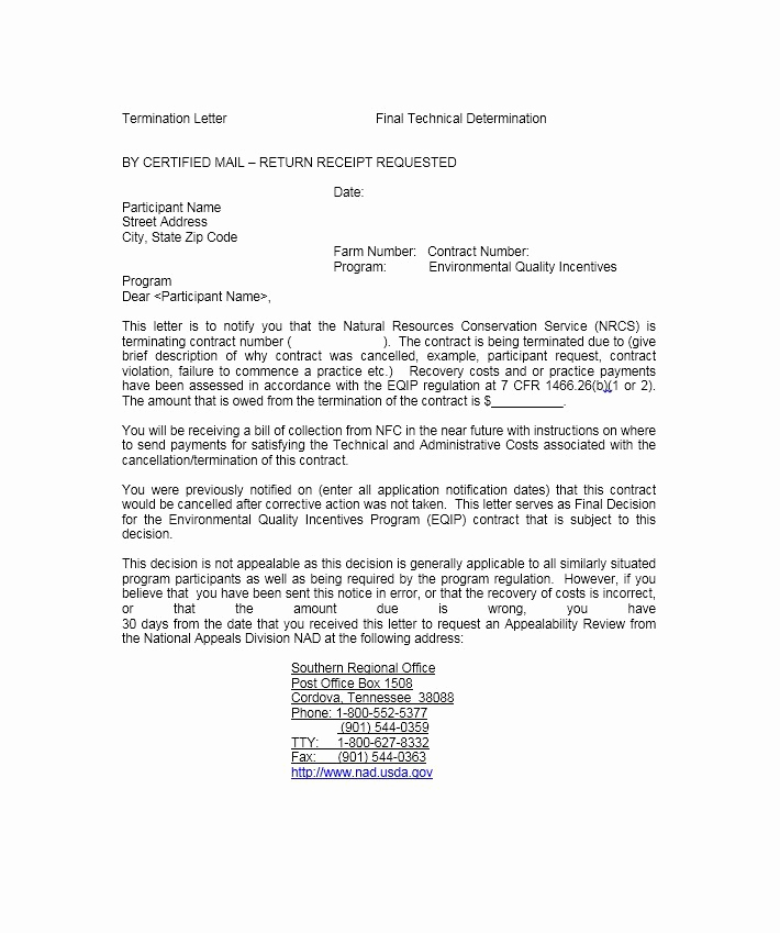 Termination Of Services Letter Inspirational 35 Perfect Termination Letter Samples [lease Employee