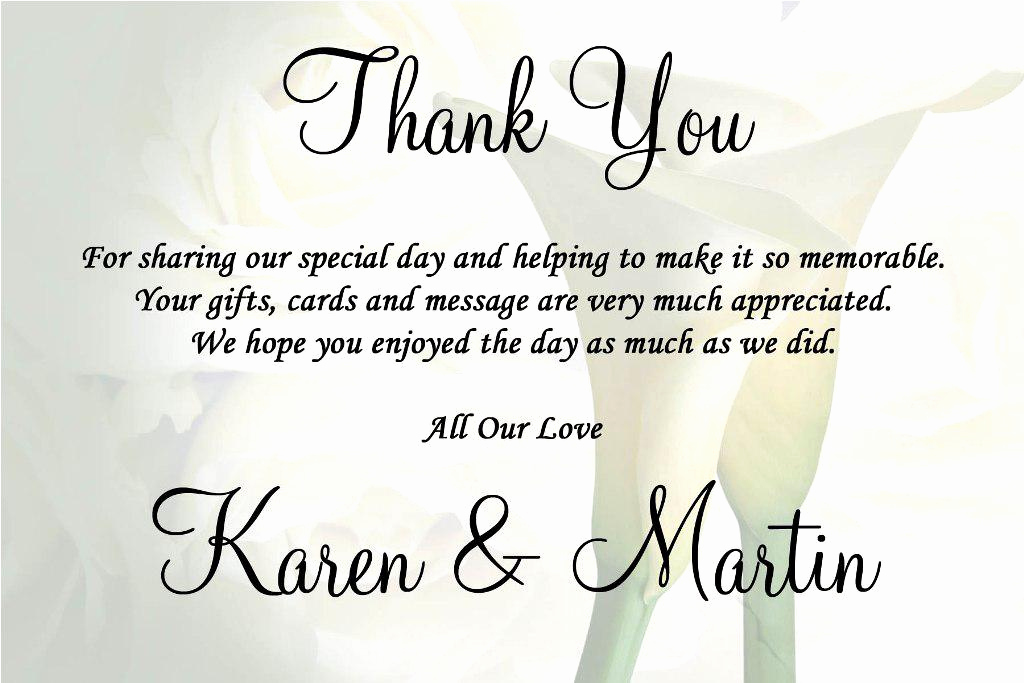 Thank You Card for Money Elegant Wedding Thank You Quotes Quotesgram