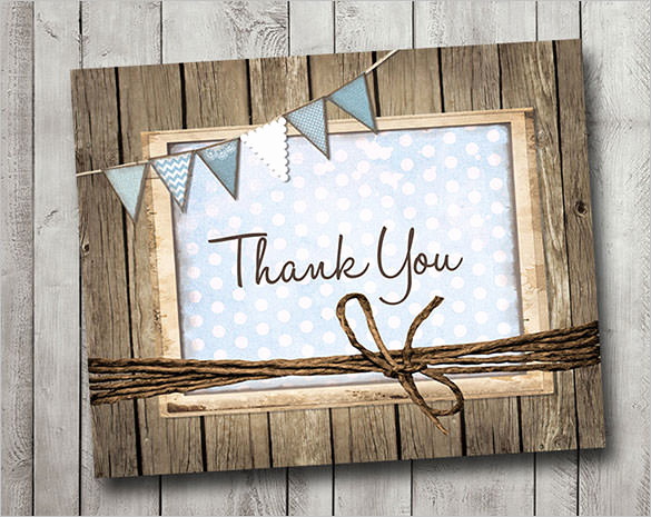 Thank You Card Template Word Best Of 106 Thank You Cards Free Printable Psd Eps Word Pdf