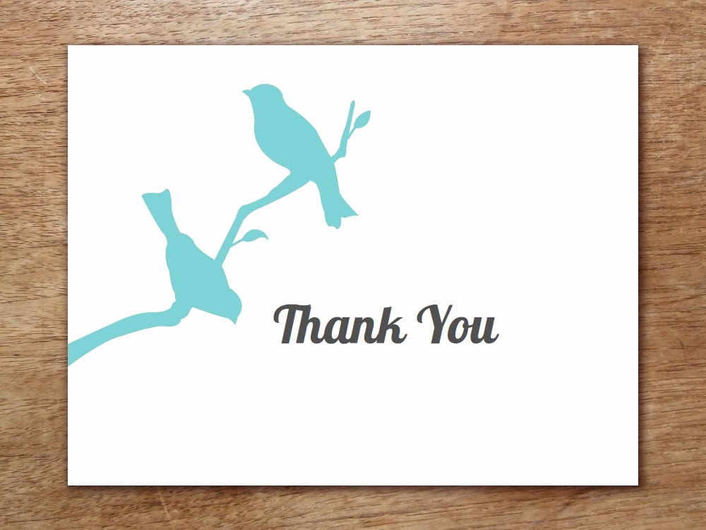 Thank You Card Template Word Inspirational 6 Thank You Card Templates Word Excel Pdf Templates