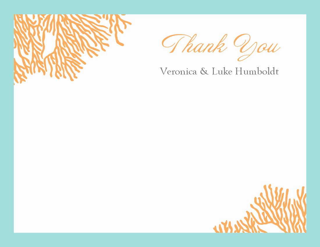 Thank You Card Template Word Inspirational Thank You Template