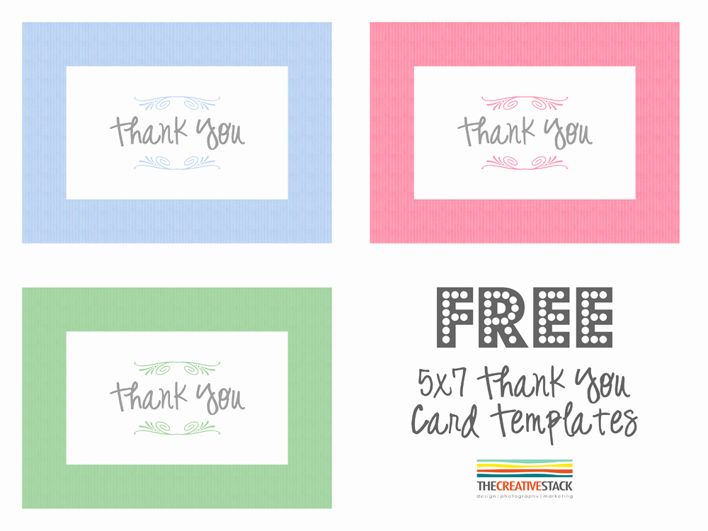 Thank You Card Template Word New Freebie Fridays – Thank You