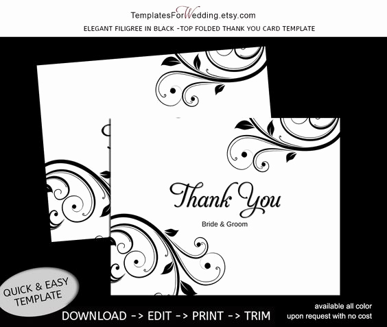 Thank You Card Template Word New Pinterest • the World's Catalog Of Ideas