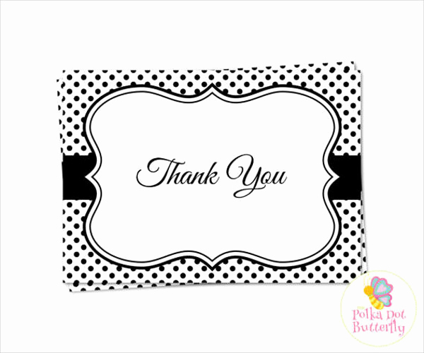 Thank You Cards Template Best Of 70 Thank You Card Designs