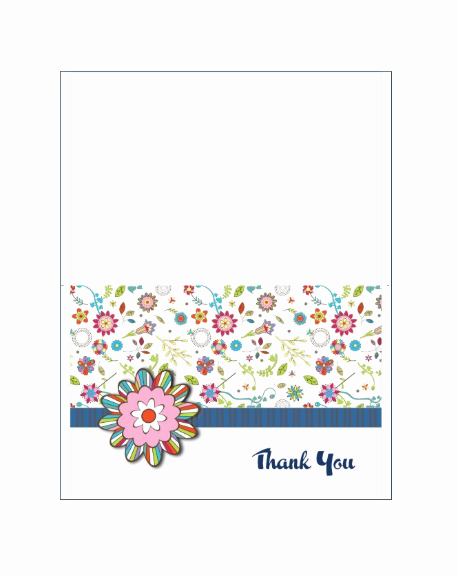 Thank You Cards Template Lovely 30 Free Printable Thank You Card Templates Wedding
