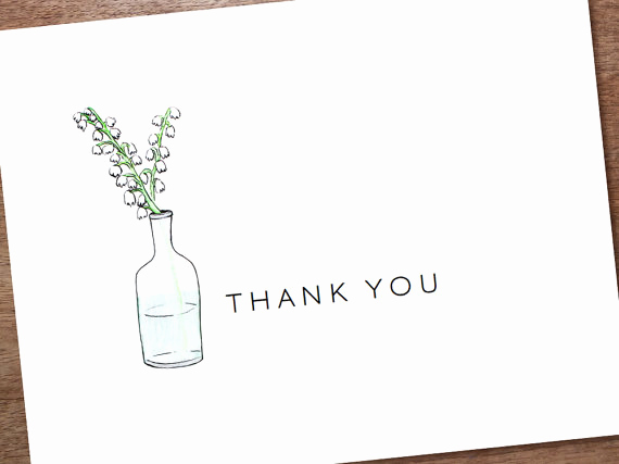 Thank You Cards Template Luxury Thank You Template