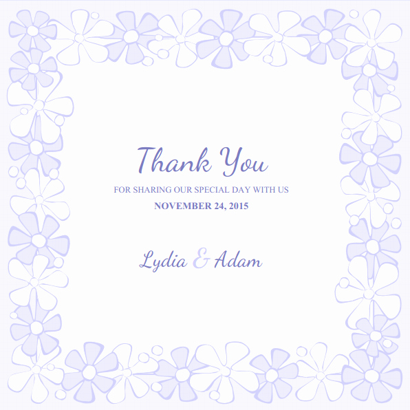 Thank You Cards Template Unique Wedding Thank You Cards Archives Superdazzle Custom
