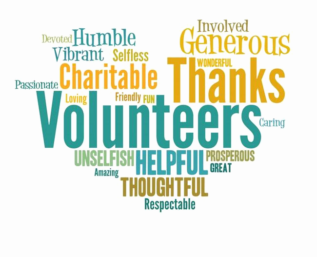 Thank You for Volunteering Best Of Thank You Volunteers Thank You Volunteers