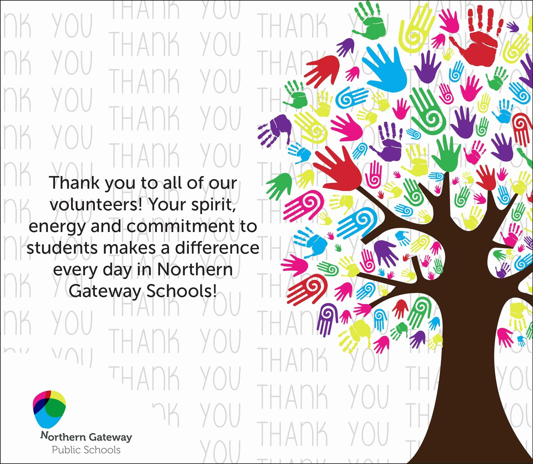 Thank You for Volunteering Elegant Volunteer Appreciation Week