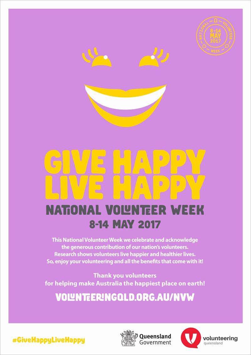 Thank You for Volunteering Unique About National Volunteer Week Volunteering Queensland