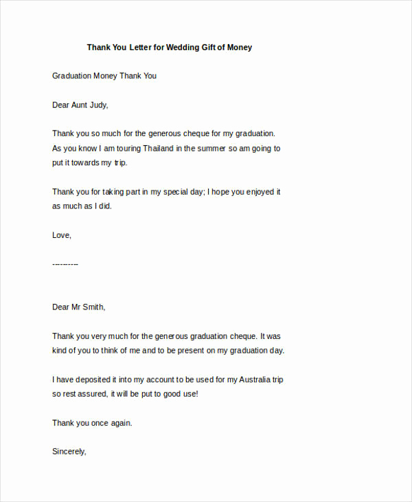 Thank You Letter for Gift Fresh 74 Thank You Letter Examples Doc Pdf