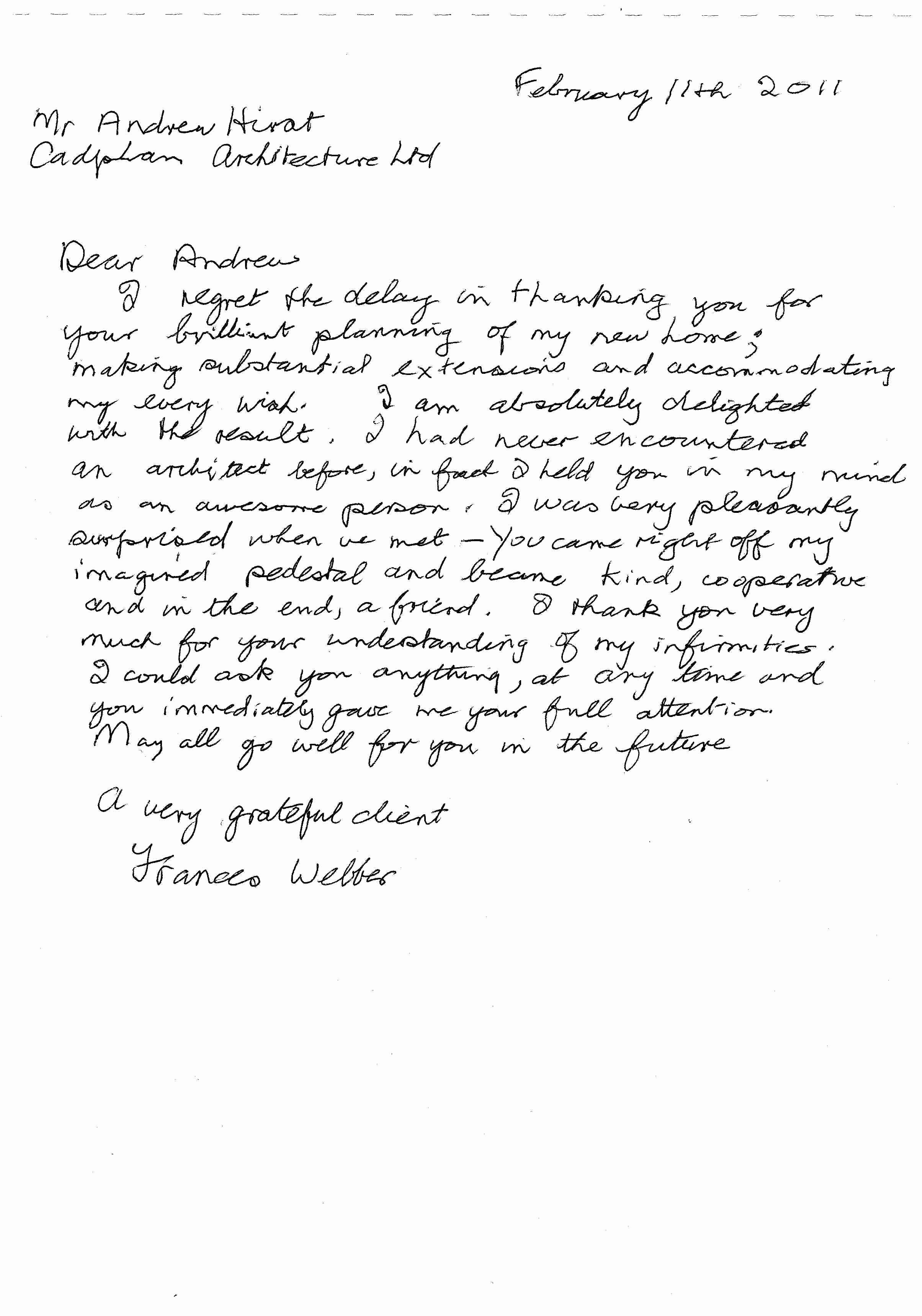 Thank You Letter for Recommendation Best Of Letter Re Mendation Thank You