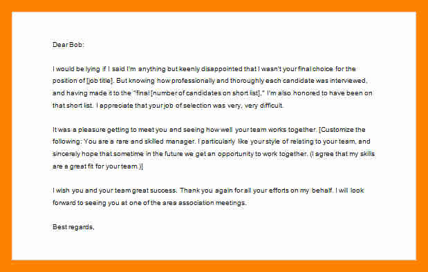 Thank You Letter to Recruiter Awesome 6 Email to Job Recruiter