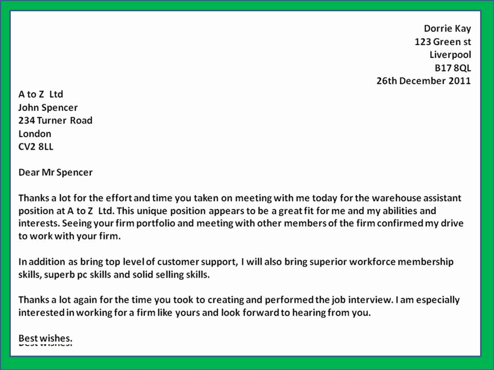 Thank You Letter to Recruiter Elegant Sample Thank You Letter Employment Agency